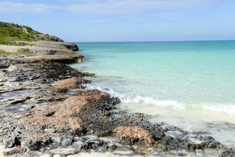 Playa de Cayo Guillermo, Cuba fotos de archivo libres de regalías