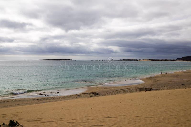 Playa de Chaves en verde de la ceja del vista de la boa fotos de archivo libres de regalías