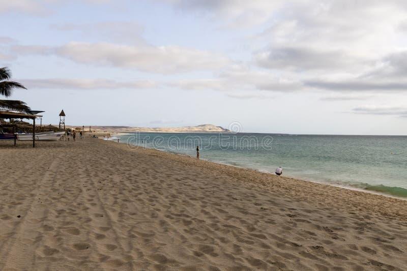 Playa de Chaves en verde de la ceja del vista de la boa imágenes de archivo libres de regalías