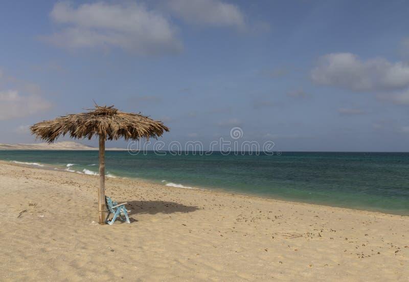 Playa de Chaves en verde de la ceja del vista de la boa foto de archivo libre de regalías