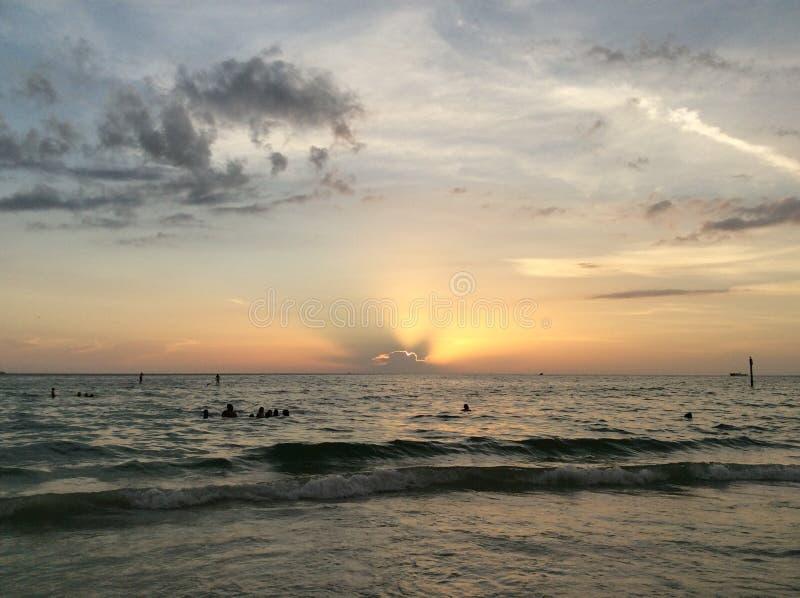 Playa de Clearwater foto de archivo