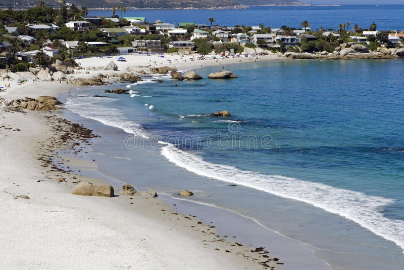 Playa de Clifton imagen de archivo libre de regalías