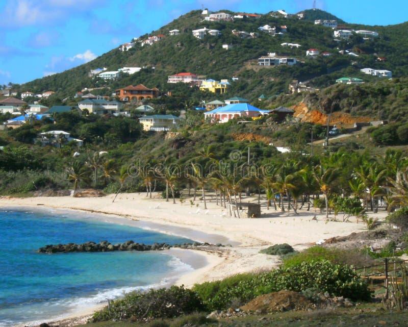 Playa de Coralita, San Martín imagen de archivo