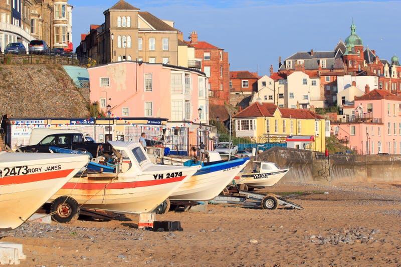 Playa de Cromer, Norfolk, Inglaterra, Reino Unido fotografía de archivo