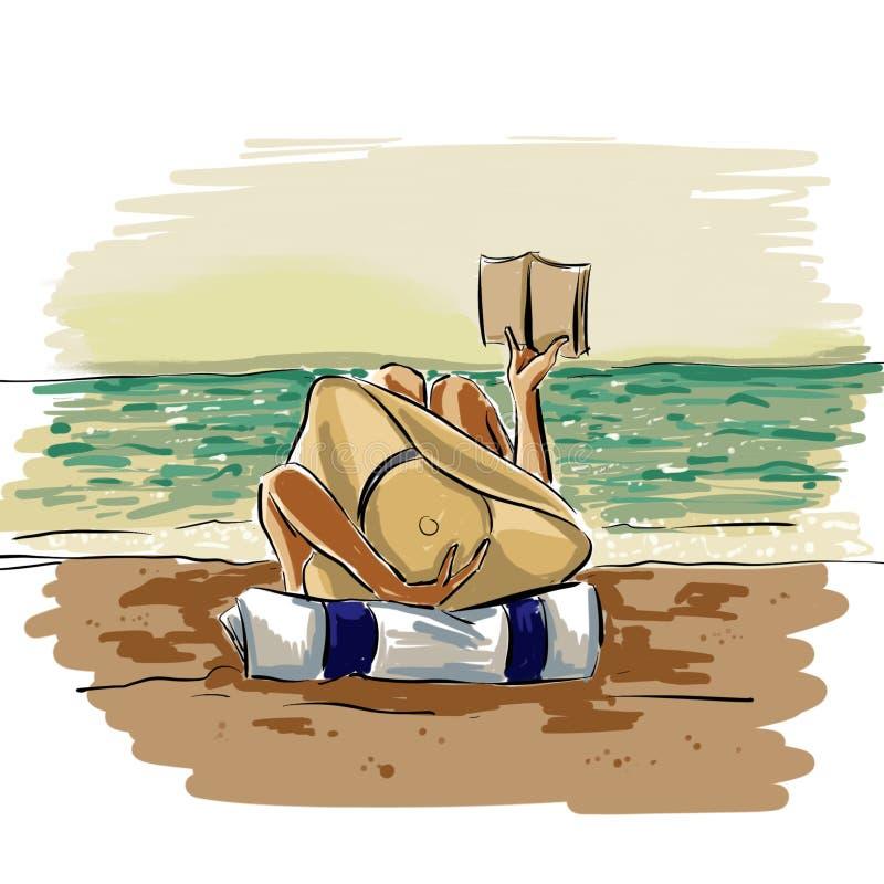 Playa de Dolce libre illustration