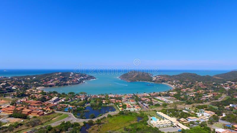 Playa de Ferradura imagen de archivo
