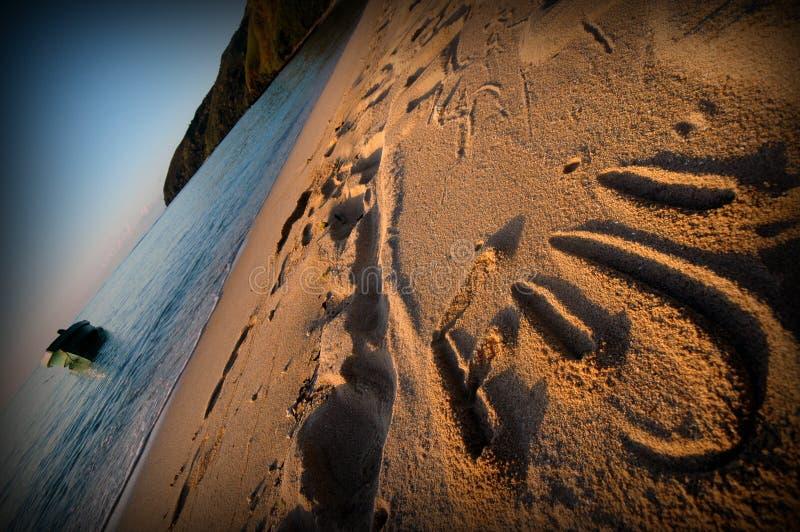 Playa de Fiji fotos de archivo libres de regalías
