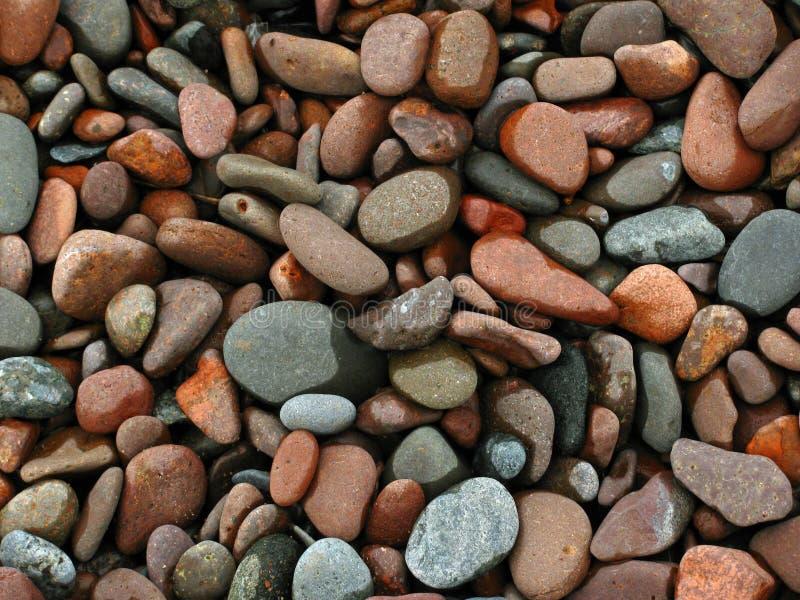 Playa de guijarros imagen de archivo