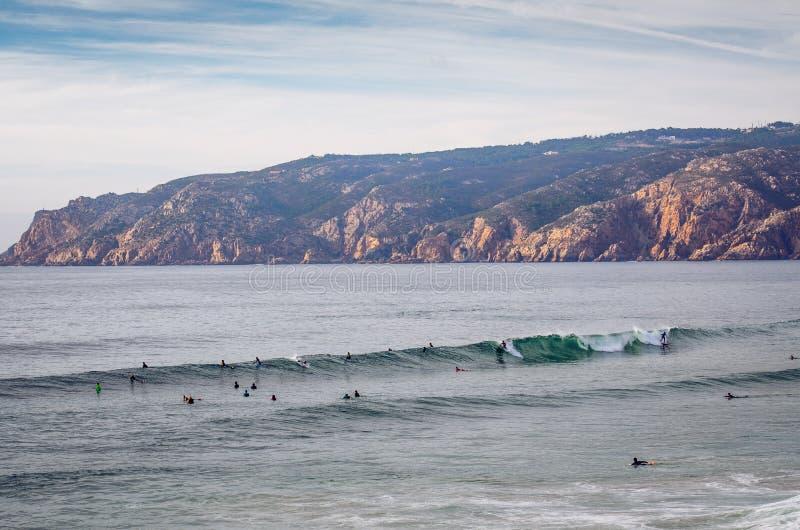 Playa de Guincho fotos de archivo libres de regalías
