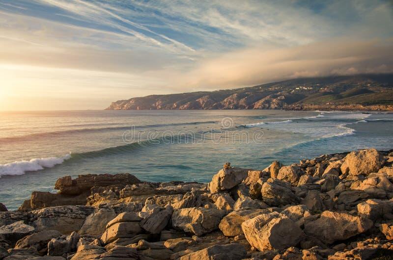 Playa de Guincho foto de archivo libre de regalías
