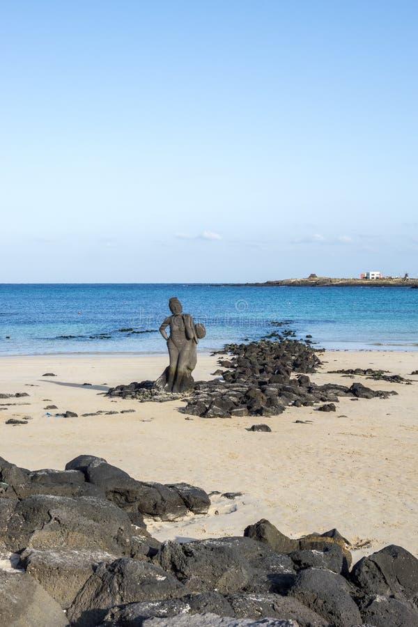 Playa de Hagosudong en Udo fotografía de archivo libre de regalías