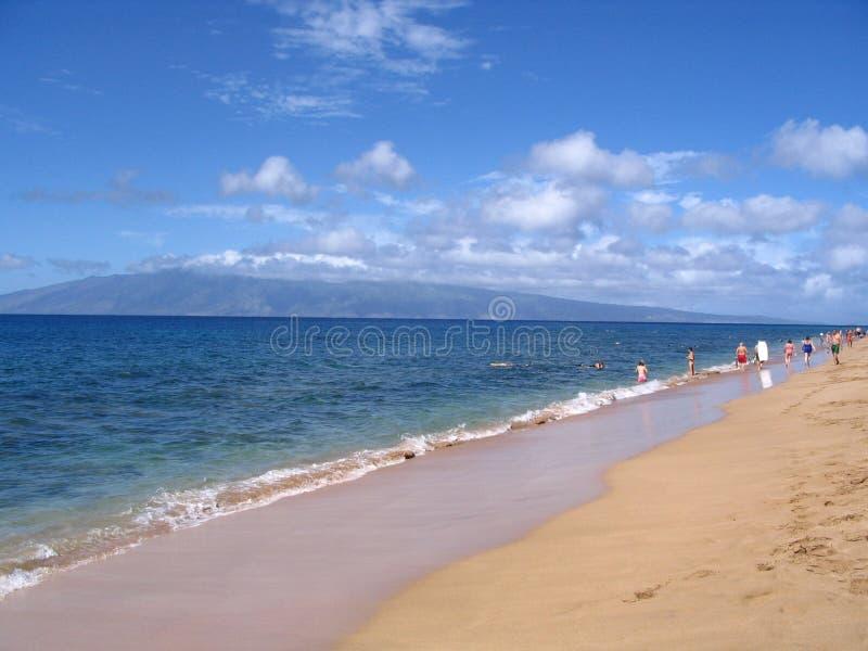 Playa de Honokowai foto de archivo libre de regalías