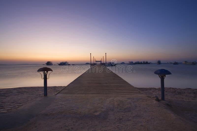 Playa de Hurghada fotografía de archivo libre de regalías
