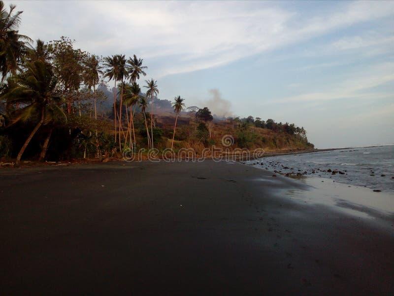 Playa de Iaro, provincia del golfo de Iokea, Papúa Nueva Guinea fotos de archivo libres de regalías