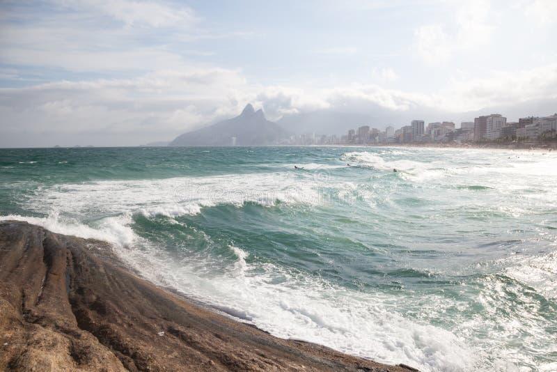 Playa de Ipanema foto de archivo libre de regalías