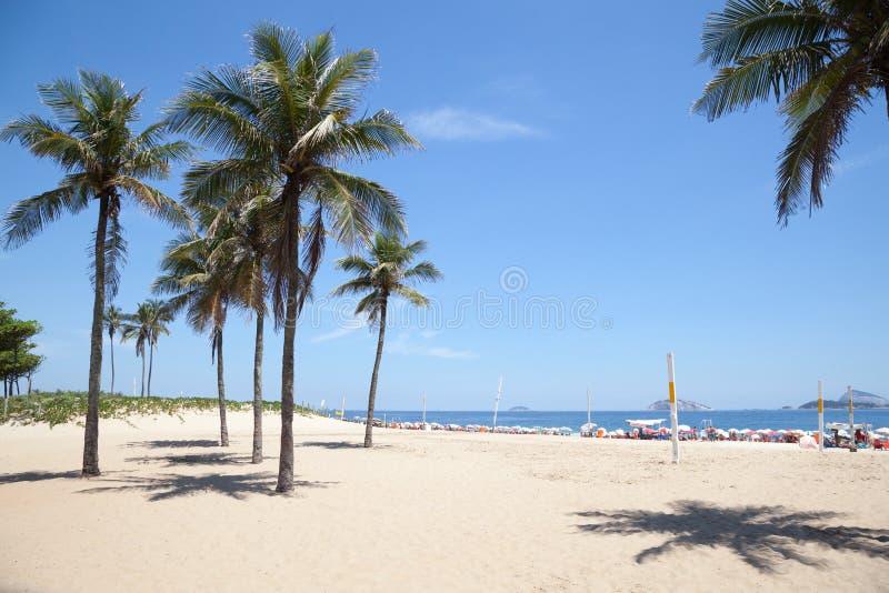 Playa de Ipanema fotografía de archivo