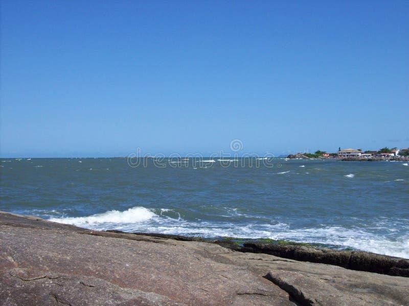 Playa de Itapoa, Santa Catarina, el Brasil fotografía de archivo