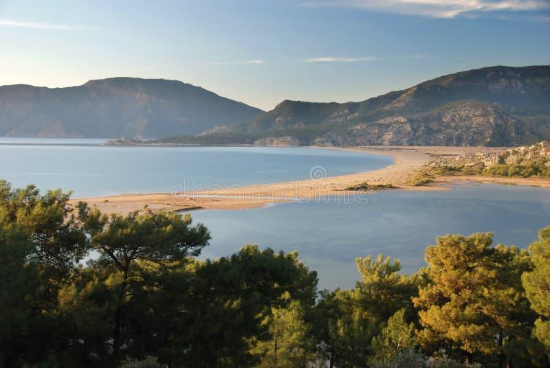 Playa de Iztuzu fotografía de archivo