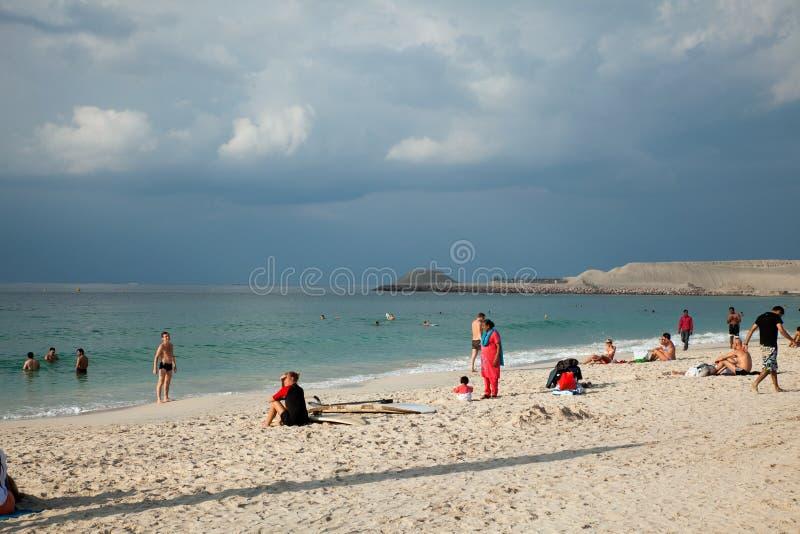 Playa de Jumeirah fotos de archivo libres de regalías
