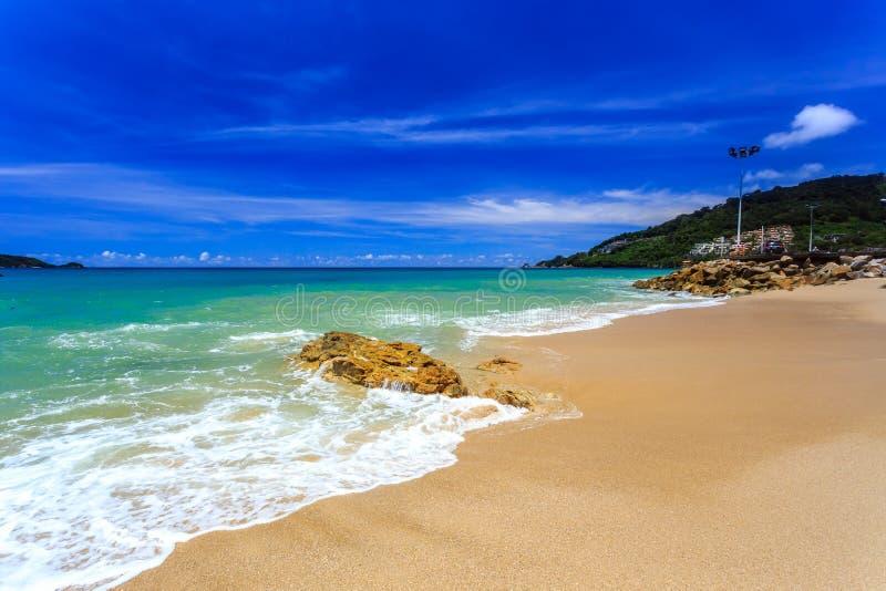 Playa de Kalim, phuket, Tailandia fotografía de archivo