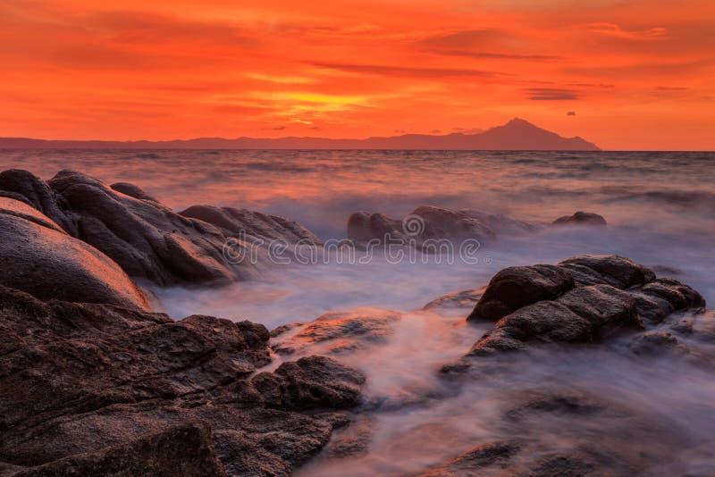Download Playa De Karidi Sithonia, Grecia Imagen de archivo - Imagen de isla, cubo: 100530485