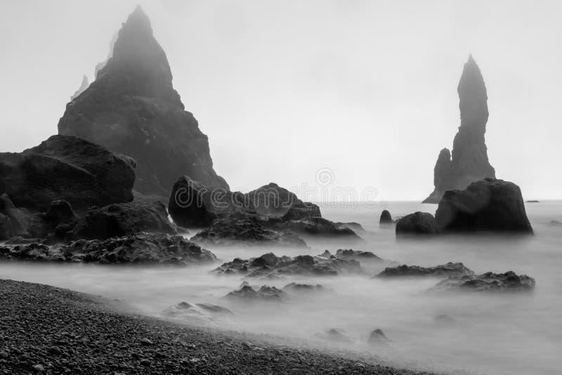 Playa de Kirkjufjara fotos de archivo libres de regalías