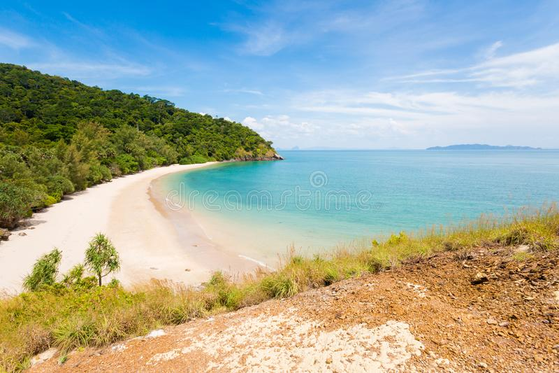 Playa de Koh Lanta Ta Naoad imagen de archivo