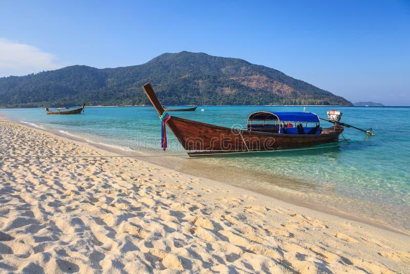 Playa de Koh Lipe, Tailandia foto de archivo libre de regalías