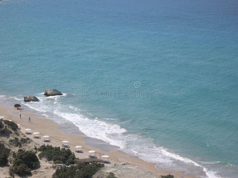 Playa de Kos - Grecia foto de archivo libre de regalías