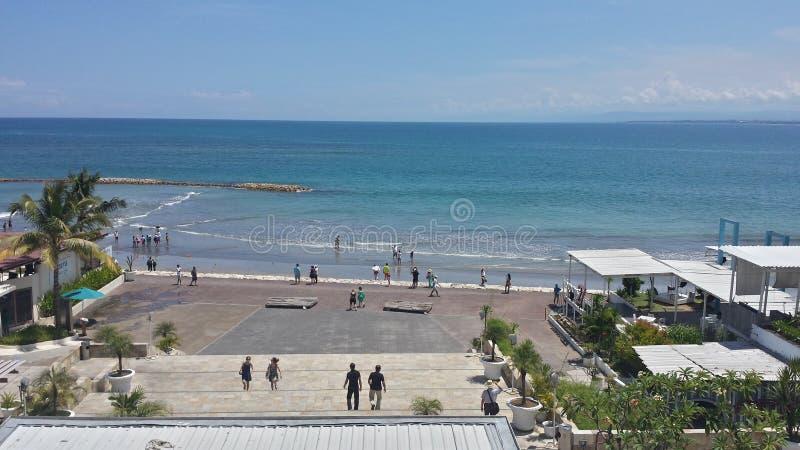 Playa de Kuta, Bali Indonesia fotografía de archivo