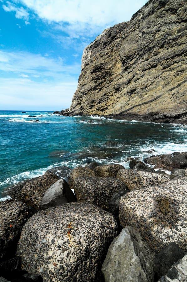 Playa de la Alojera. In La Gomera Canary Islands Spain stock photo