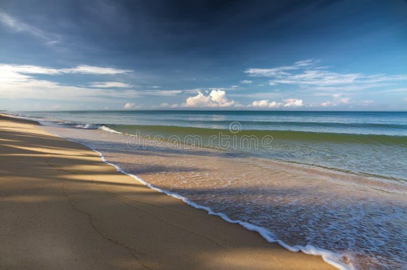 Playa de la arena en Phu Quoc, Vietnam foto de archivo libre de regalías