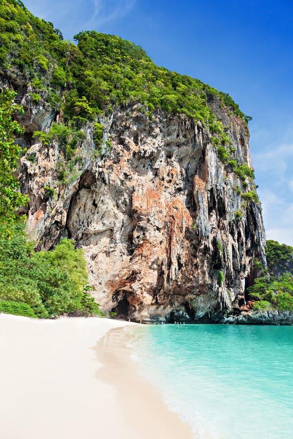 Playa de la belleza foto de archivo libre de regalías