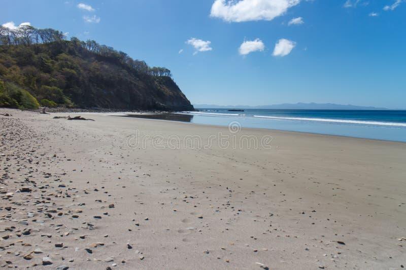 Playa de la Costa del Pacífico imágenes de archivo libres de regalías