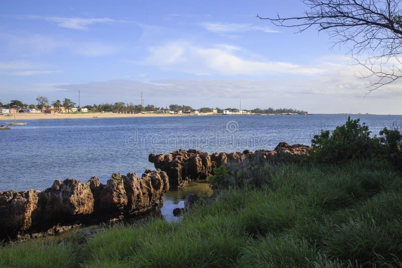 Playa de la isla de Mozambique, fotografía de archivo libre de regalías