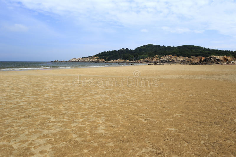 Playa de la isla de Wuyu fotos de archivo libres de regalías