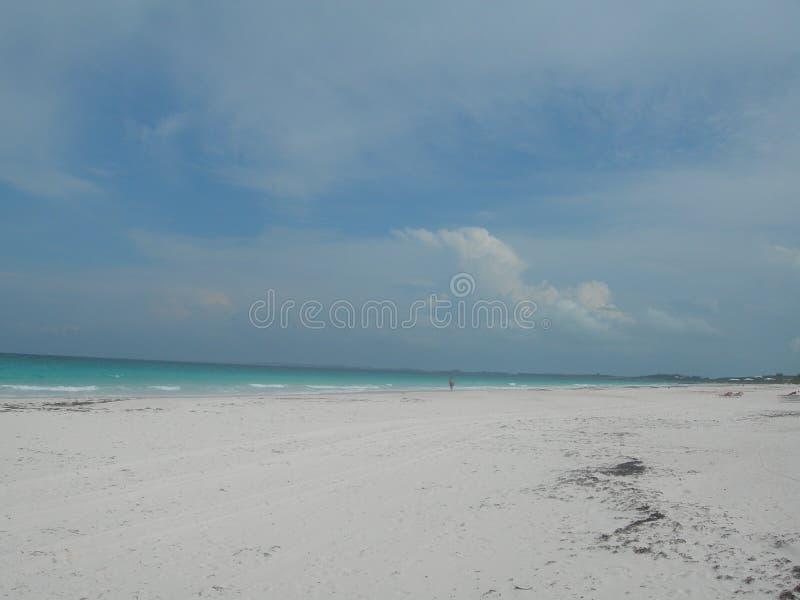 Playa de la isla del puerto foto de archivo