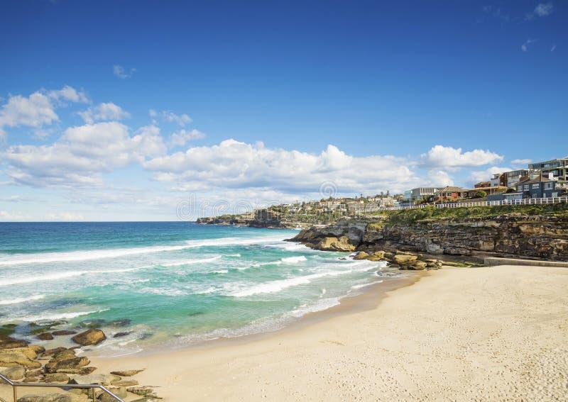 Playa de la playa de Tamarama en Sydney Australia fotografía de archivo libre de regalías