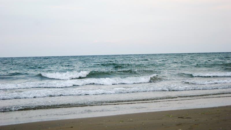 Playa de la tarde de Italia foto de archivo