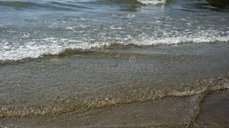 Playa de la tarde de Italia imagen de archivo