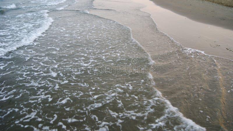 Playa de la tarde de Italia imagen de archivo libre de regalías