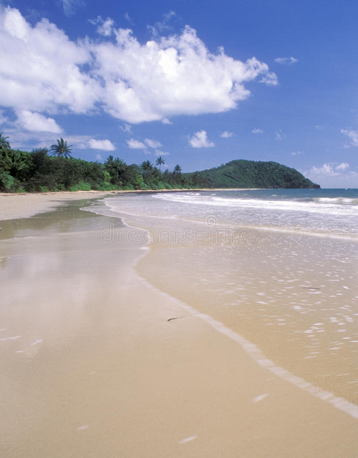 Playa de la tribulación del cabo, Queensland fotos de archivo