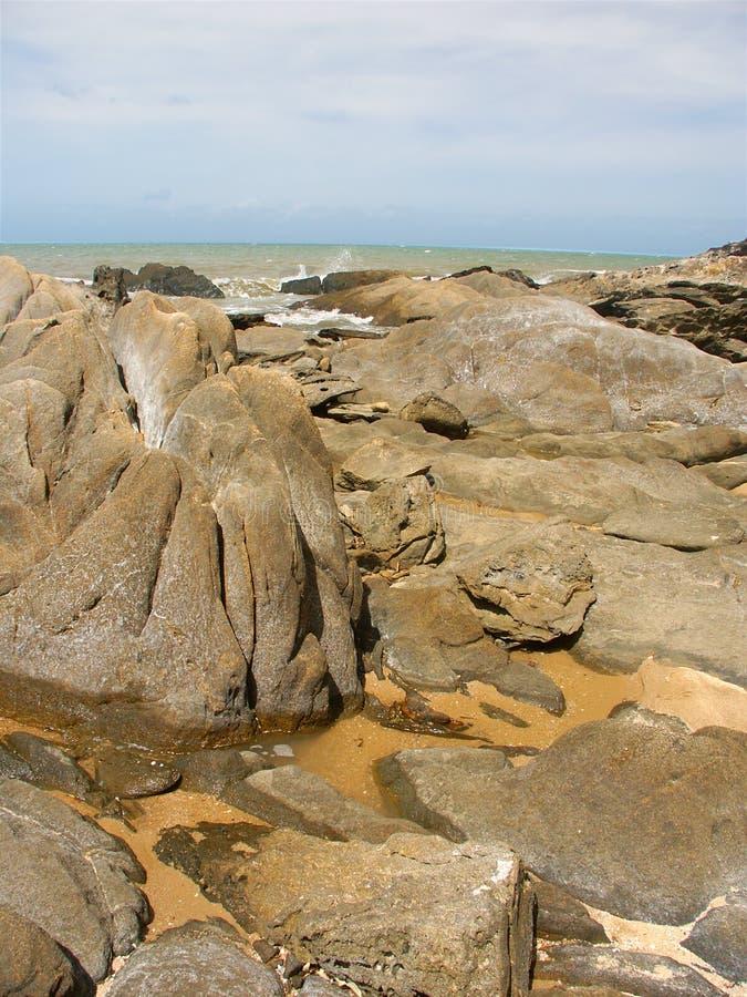Playa de la trinidad - Queensland, Australia imágenes de archivo libres de regalías