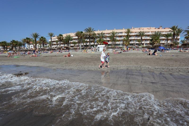 Download Playa De Las Americas, Tenerife Editorial Image - Image: 19195940