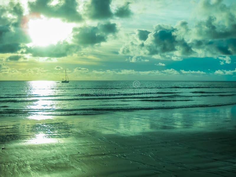 Playa De-las Amerika-Grün stockfoto