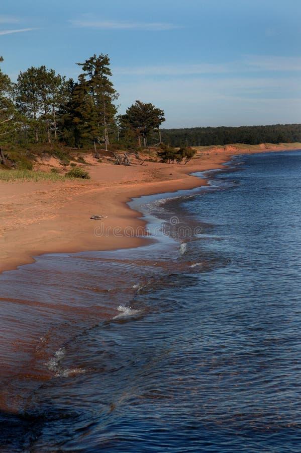 Playa de las arenas del canto fotos de archivo