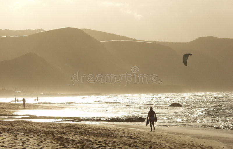 Playa DE las canteras royalty-vrije stock foto