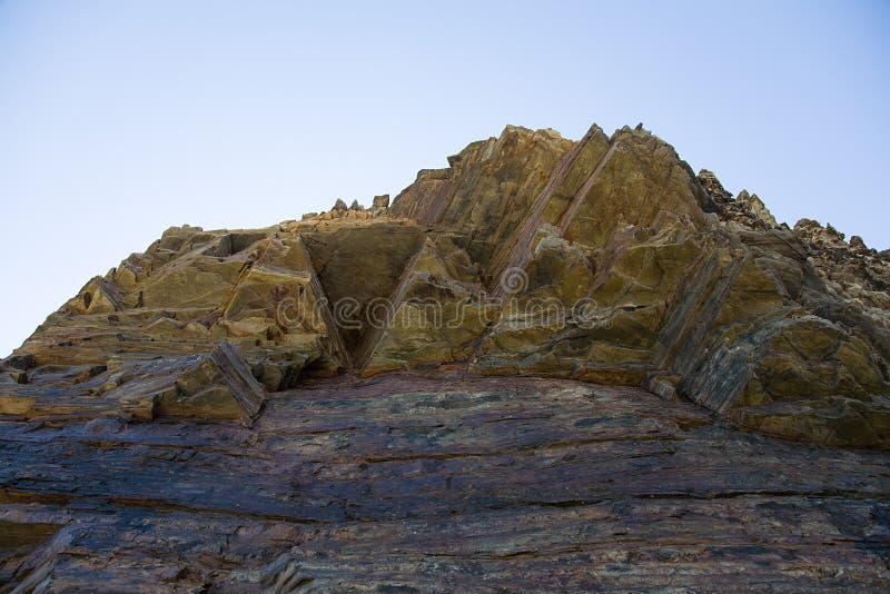 Playa de las Catedrales royalty free stock photography