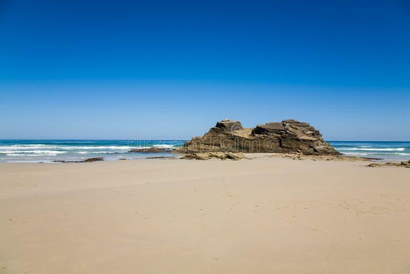 Playa de las Catedrales royalty free stock photo