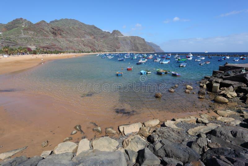 Playa DE las Teresitas, Tenerife royalty-vrije stock foto's